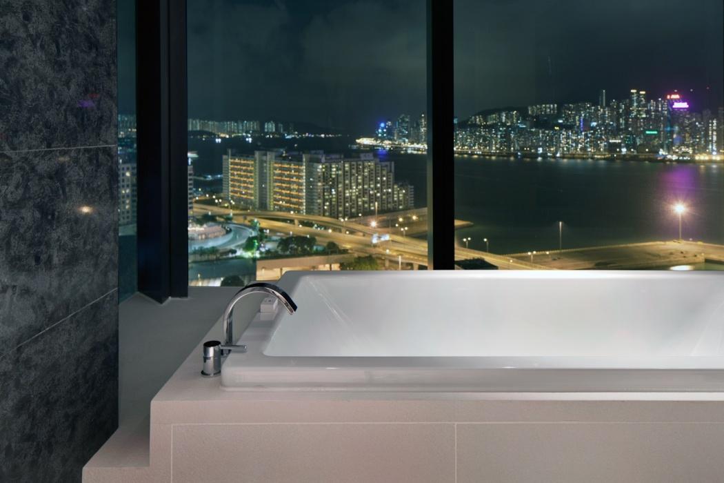 Ванная в номера в отеля ICON