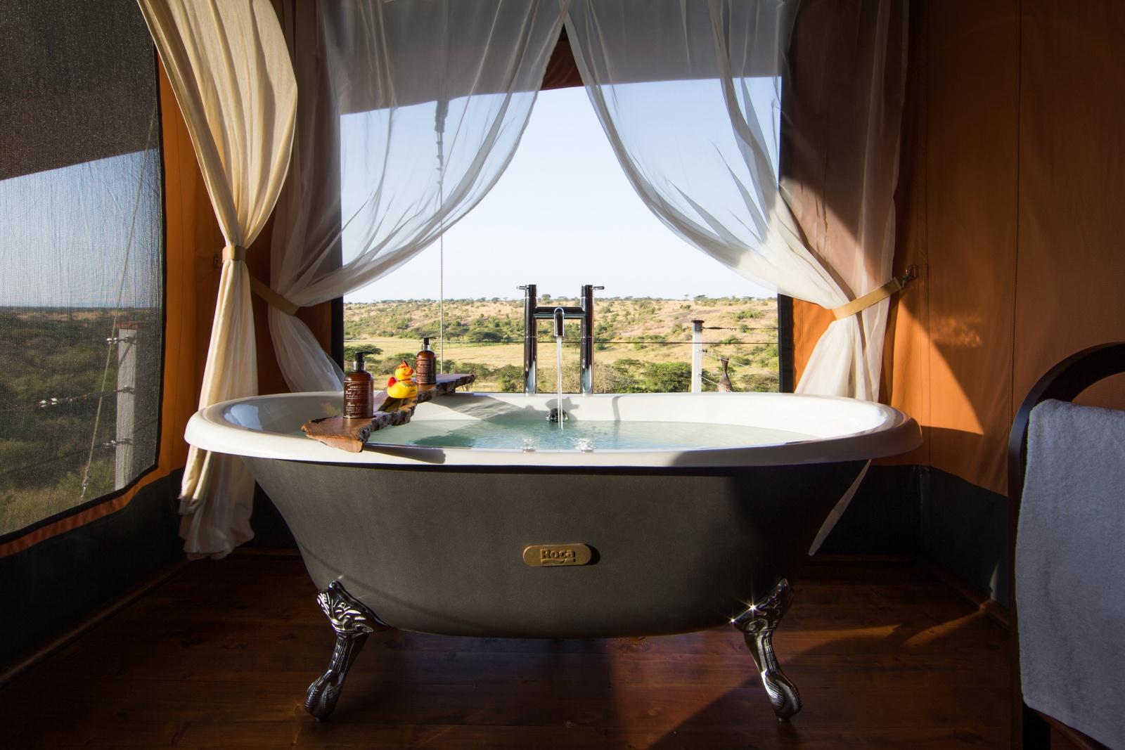 Ванная в номере отеля
