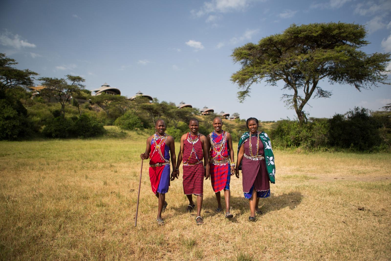 Местные жители Кении
