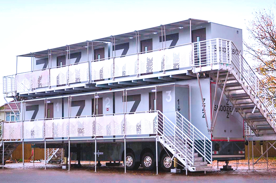 Мини гостиницы из контейнеров