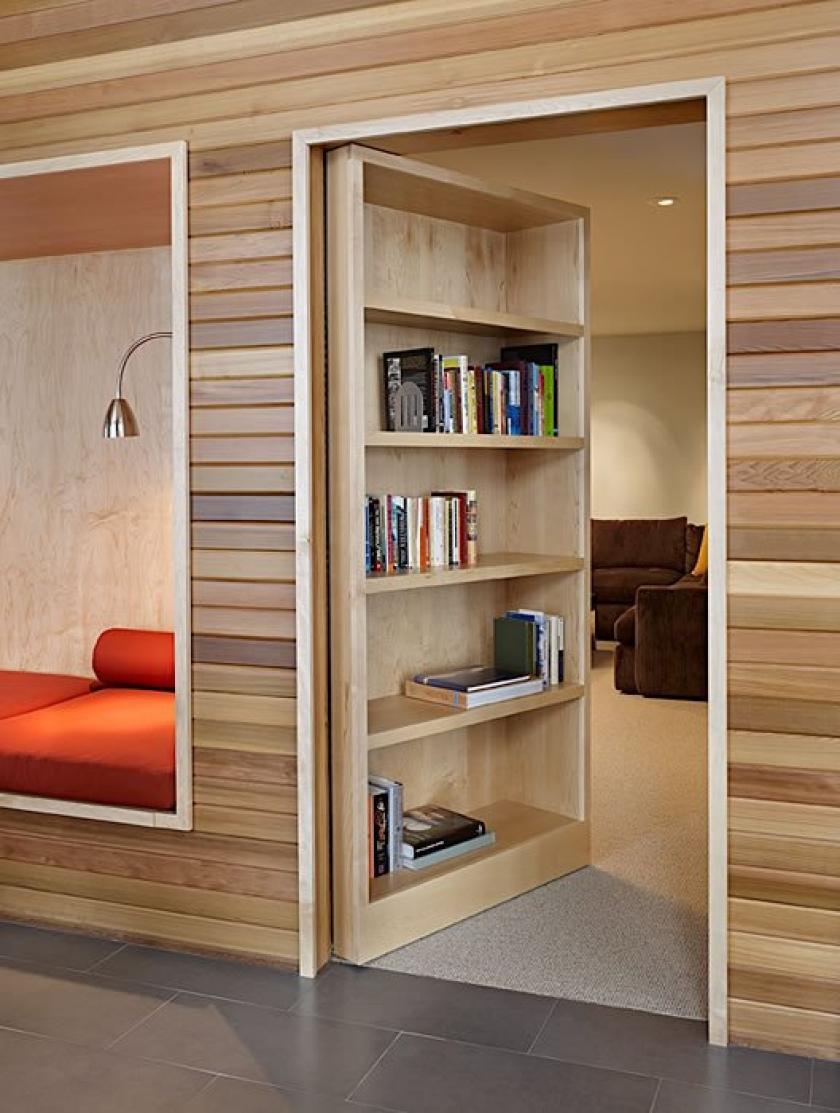 Secret bookshelf door design plans diy free download lifetim.