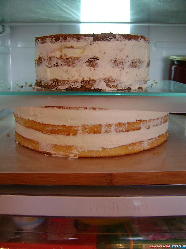 как приготовить 2-х ярусный торт
