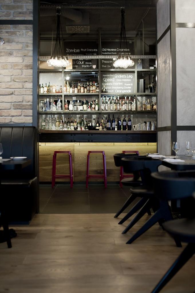 Дизайн интерьера ресторана KNRDY