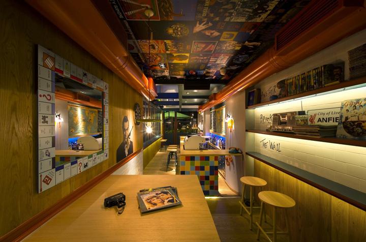 Дизайн кафе RE Cafe and Dining Bar, Греция