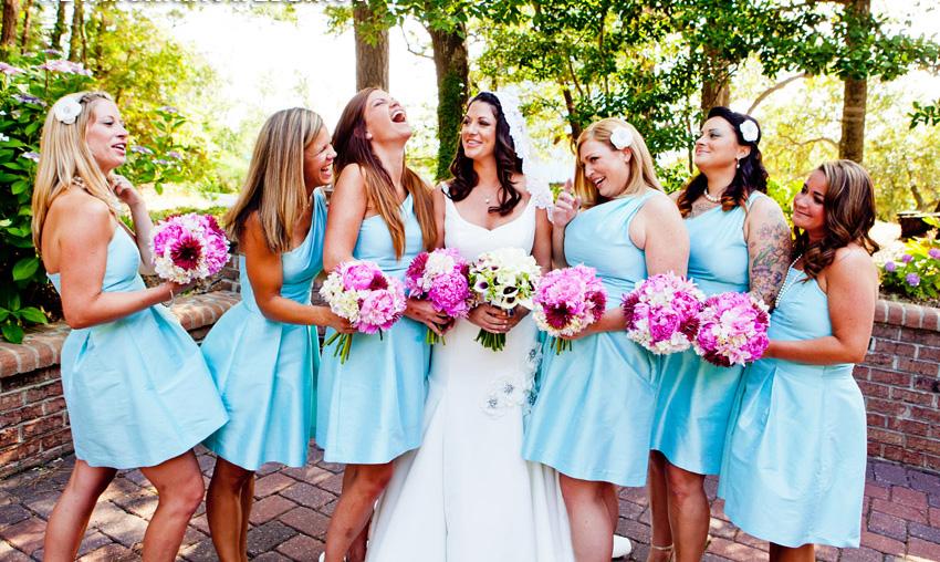 Цвет платья подруг невесты