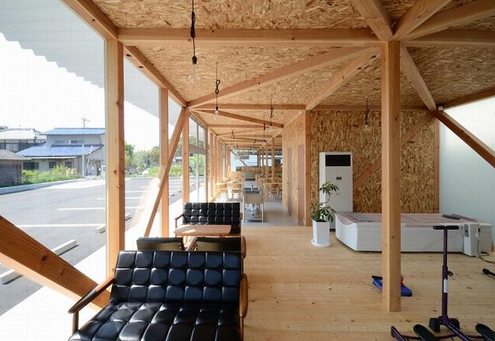 Национальный стиль кафетерия от Niji Architects