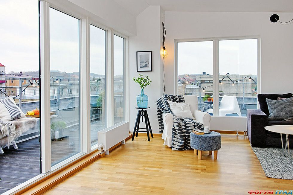 Квартиры с панорамным балконом..