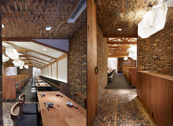 Ресторан японской кухни 721 Tonkatsu в Шанхае