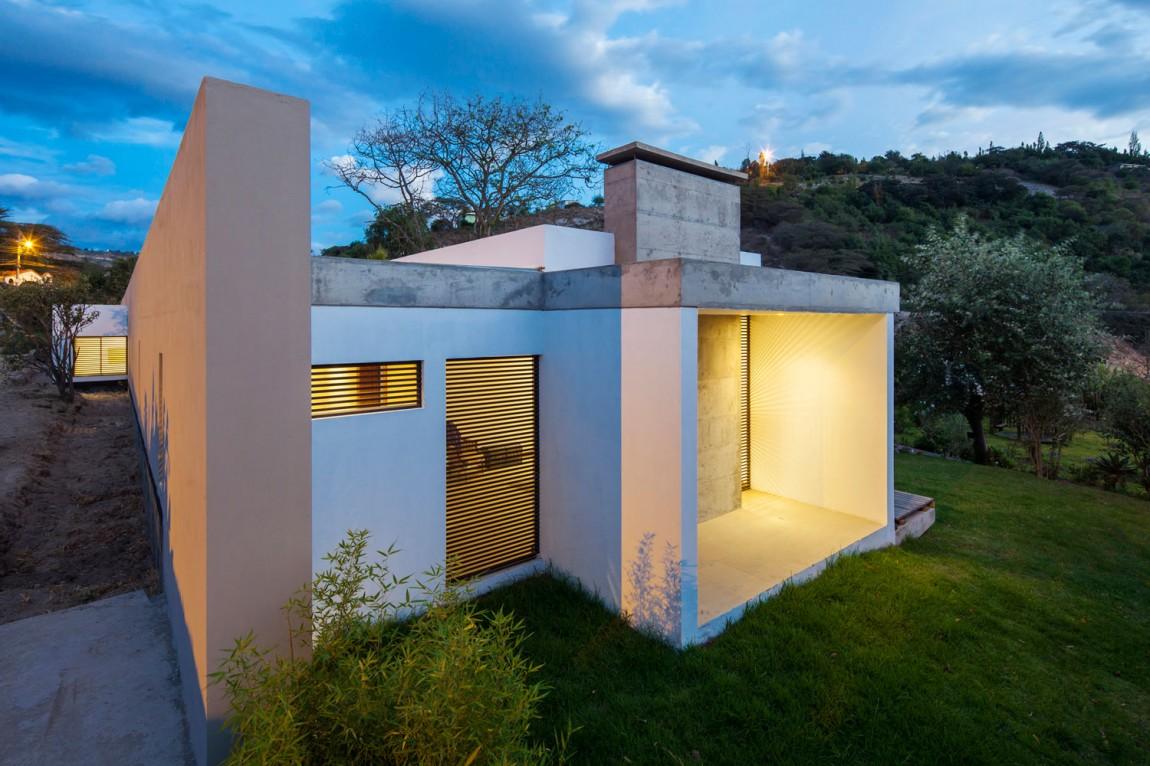 Проект длинного дома G1 в Эквадоре