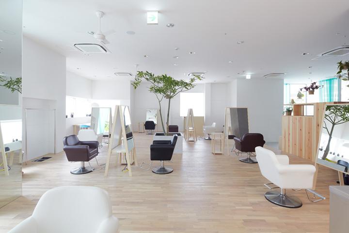 Дизайн парикмахерской LE CINQ