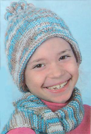 Описание зимняя шапка спицами, вязаное платье спицами для девочки и