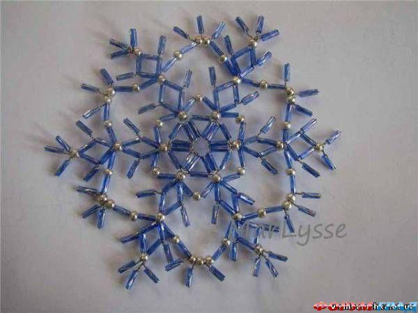 А что вы скажете, если снежинки сделать украшением для новогодней елки.  Мне кажется уже можно об этом задуматься.