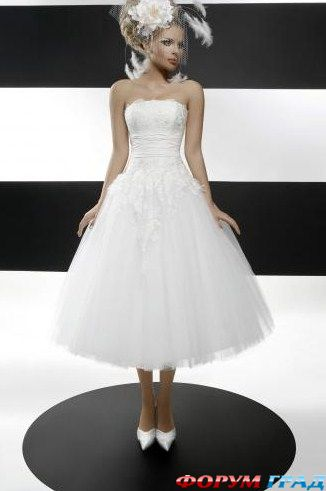 Свадебное платье в стиле 60