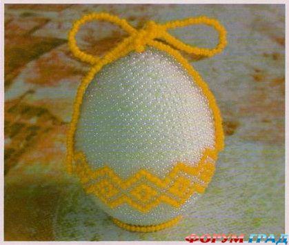 Яйцо оплетается по схеме 1,