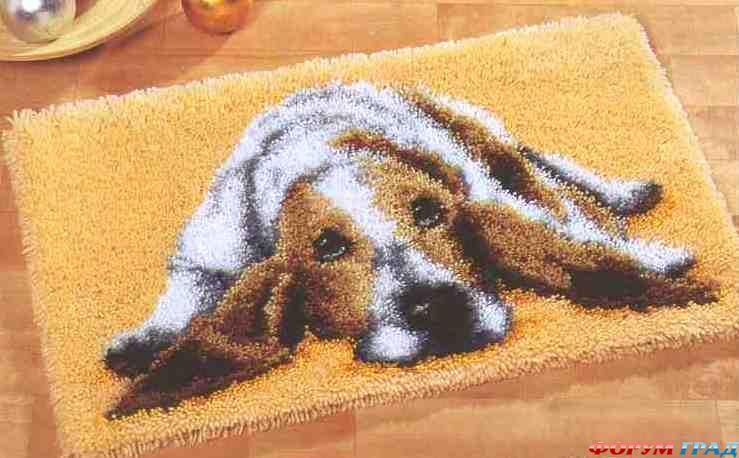 схема для ковровой вышивки