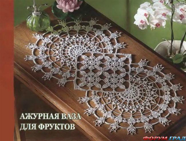 Кружевная геометрия. Схема