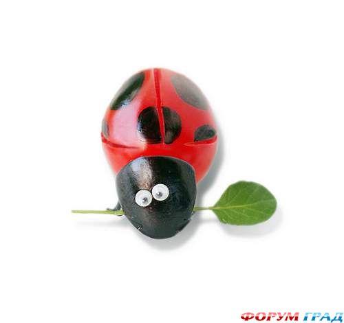 Креативные поделки из овощей и фруктов