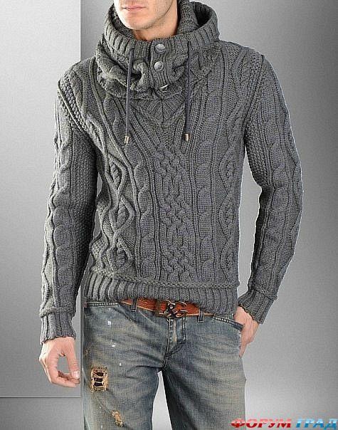 вязаный свитер главная вязаные