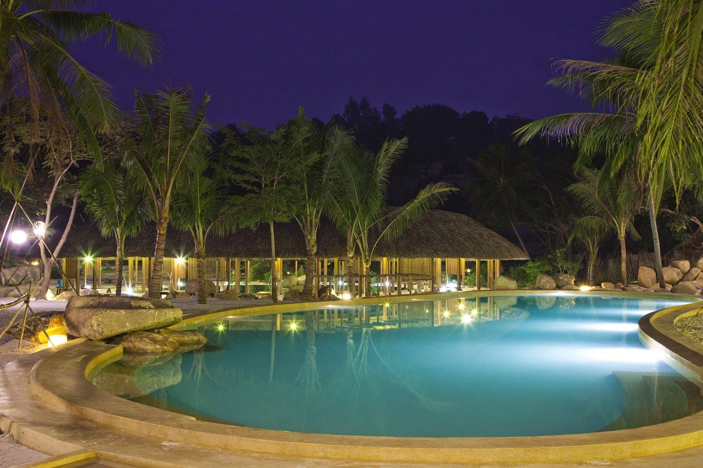 Фешенебельный грязевый курорт I-Resort's в Нячанге, Вьетнам