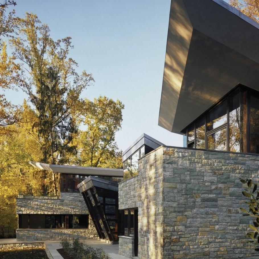 Необыкновенный особняк glenbrook residence от