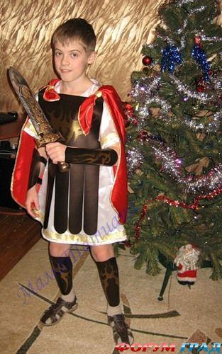 Как сделать костюм воина своими руками 91