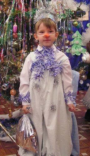 Выкройка ведра к новогоднему костюму снеговика