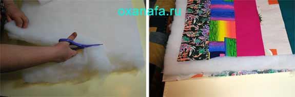 Как сшить одеяло на синтепоне своими руками 42