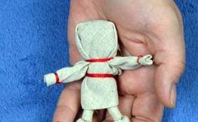 Как сделать куклу счастья буду