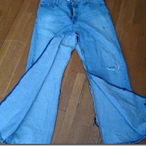 Юбка из старых джинсов Как сделать.  Автор:Admin.