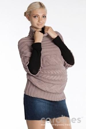 вязанная одежда для будущих мам вязать научиться никогда не