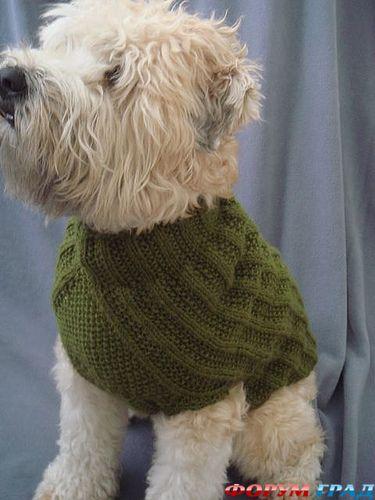 и схем вязаной одежды для