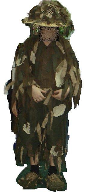 Как сделать костюм лешего своими руками для охоты