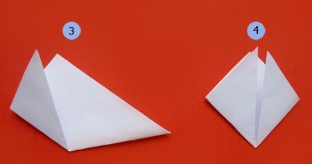 Новогодняя кусудама из бумаги схемы.
