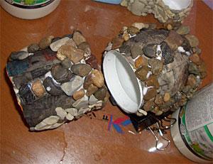 Как приклеить камень к пластику