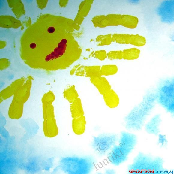 Я рисую солнце на ютубе