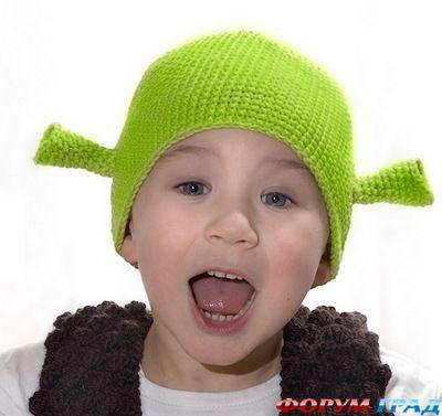 Вязанные шапочки для нов