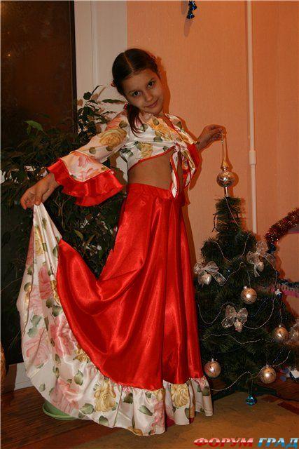 Как сшить детский костюм цыганки своими руками 40