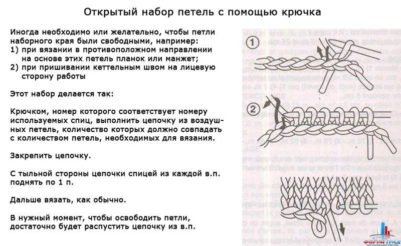 Правила вязания крючком петли