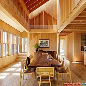 Эстетика в деревянном доме