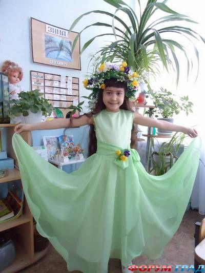 Платье весны своими руками