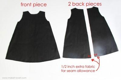 Выкройка платья трапеция