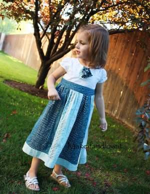 Как пришить юбку к футболке и сделать платье