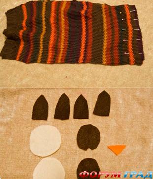 шапка из меха кролика: выкройка шапки из меха для девочки, шубы.