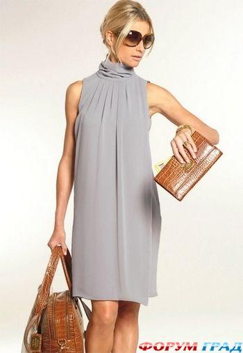 Часть платья по сравнению с задней