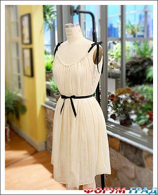 Как сшить платье летнее