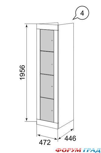 Дизайн угловой кухни фото 6 кв.м