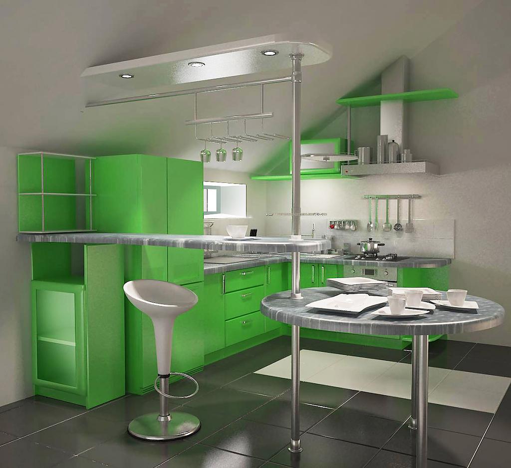 красивые зеленые кухни фото страна, поэтому сроки
