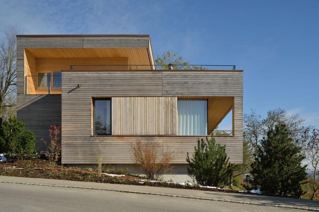 Дом в горах с видом на город: швейцарская добротность и гостеприимство