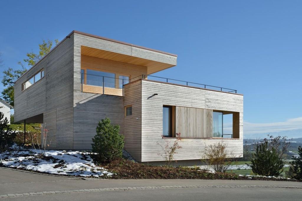 Минималистский дизайн современного частного дома