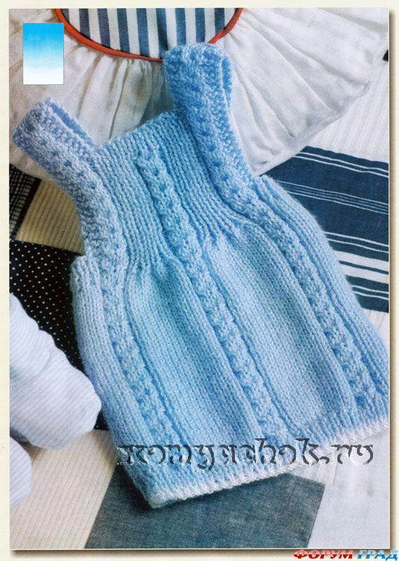 Вязание для девочек от 0 до года